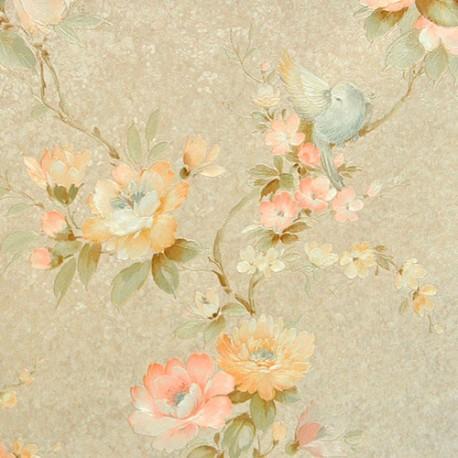 Виниловые обои Zambaiti (Замбаити)  коллекция  SATIN FLOWERS артикул  2213