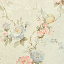 Виниловые обои Zambaiti (Замбаити)  коллекция  SATIN FLOWERS артикул  2215