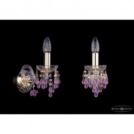 Бра  Bohemia Ivele Crystal,  1410/1/G/V7010