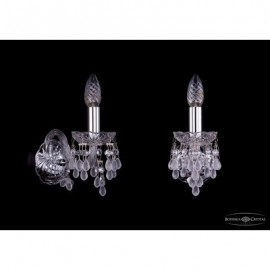 Бра  Bohemia Ivele Crystal,  1410/1/Ni/V0300