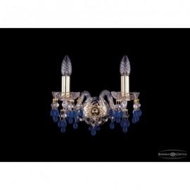 Бра  Bohemia Ivele Crystal,  1410/2/G/V3001