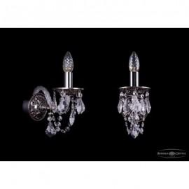 Бра  Bohemia Ivele Crystal,  1610/1/NB/Leafs