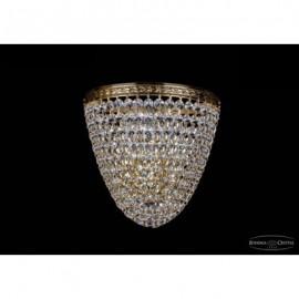 Бра 1925/3/S/G, Bohemia Ivele Crystal