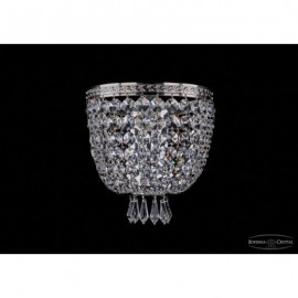 Бра 1927/1/W/Ni, Bohemia Ivele Crystal