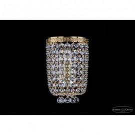 Бра 1928/1/S/G, Bohemia Ivele Crystal