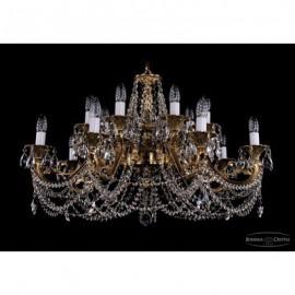 Люстра 1703/14/C/G, Bohemia Ivele Crystal