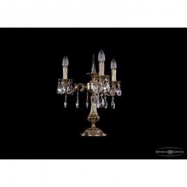 Лампа настольная 7001/3/125-51/A/GB, Bohemia Ivele Crystal