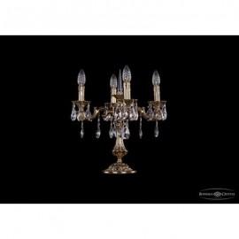 Лампа настольная 7001/4/125-51/A/GB, Bohemia Ivele Crystal