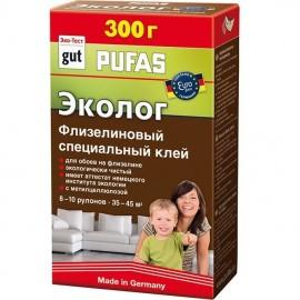 """Клей обойный флизелиновый специальный """"Эколог"""" Pufas 300 г"""