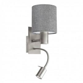96374 Настенный светильник с дополнительной лампой для чтения Eglo Pasteri
