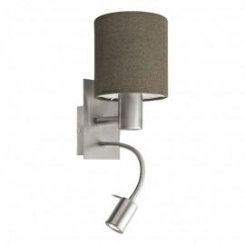96386 Настенный светильник с дополнительной лампой для чтения Eglo Pasteri