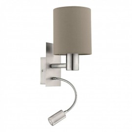 96478 Настенный светильник с дополнительной лампой для чтения Eglo Pasteri
