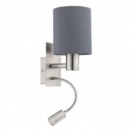 96479 Настенный светильник с дополнительной лампой для чтения Eglo Pasteri