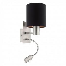 96483 Настенный светильник с дополнительной лампой для чтения Eglo Pasteri