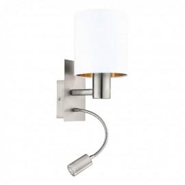 96484 Настенный светильник с дополнительной лампой для чтения Eglo Pasteri