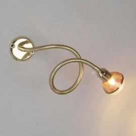 1214 MR16 золото Подсветка для картин на гибкой ножке Elektrostandard (a023768)