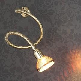 Подсветка с гибким проводом 1214 MR16 золото ЕВРОСВЕТ