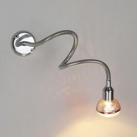 Подсветка с гибким проводом 1214 MR16 хром ЕВРОСВЕТ